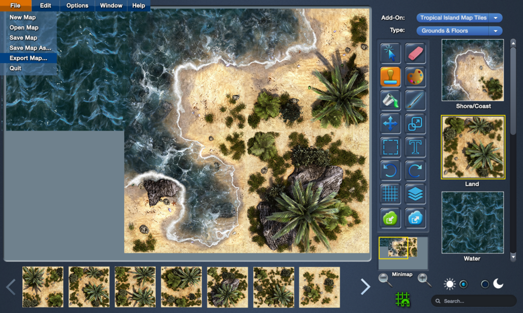 New battlemap creation software on the way mapforge should appeal to gms of face to face game sessions and to those using any vtt software who want to create their own slick looking battlemaps to gumiabroncs Images