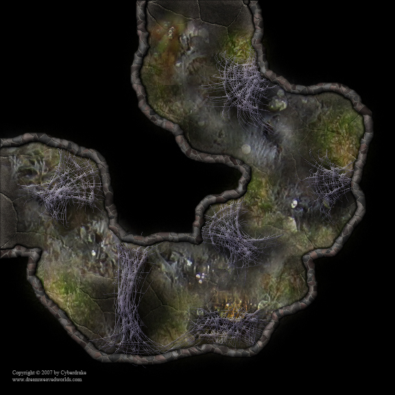 DWW Spider Cave Map Tiles
